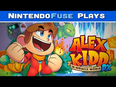 Let's Play: Alex Kidd in Miracle World DX on Nintendo Switch |