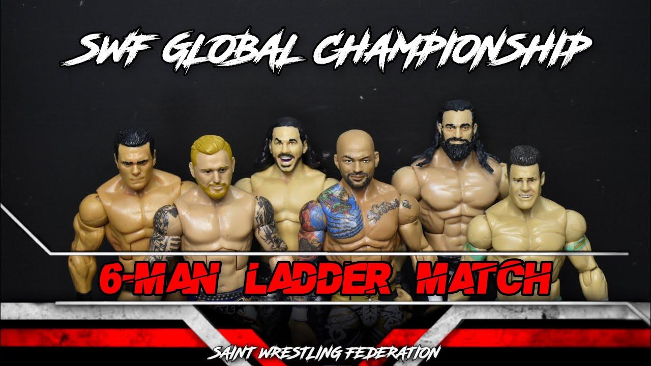 6-MAN LADDER MATCH! SWF GLOBAL CHAMPIONSHIP