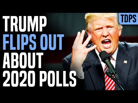 Trump EXPLODES As Every Poll Shows Him Losing 2020