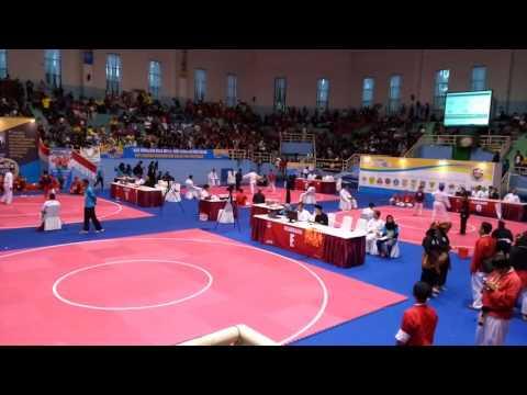 Jakarta Pencak Silat Championship (JKTC6) Anggraini Sekartaji and her partner Rana