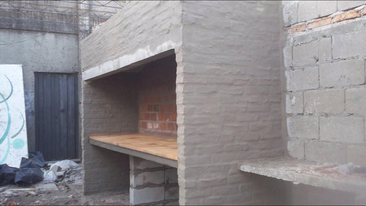 Construccion de asador doble parte 3 de 3 youtube for Planos de construccion