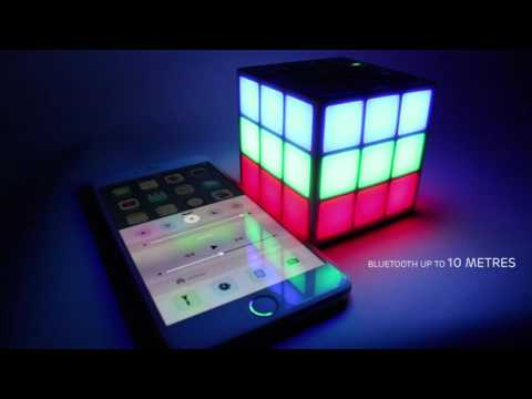 Rubik's Bluetooth LED Speaker from Bounce Audio
