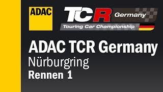 ADAC TCR Germany Rennen 1 Nürburgring 2018 DEUTSCH Re-Live
