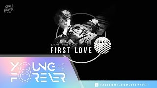 Video [Vietsub+Kara] First Love - SUGA (BTS) download MP3, 3GP, MP4, WEBM, AVI, FLV Agustus 2018