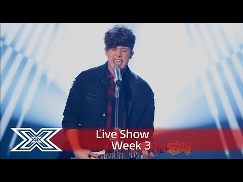 Ryan kicks off Diva Week with Adele's Rolling in The Deep | Live Shows Week 3 | The X Factor UK 2016