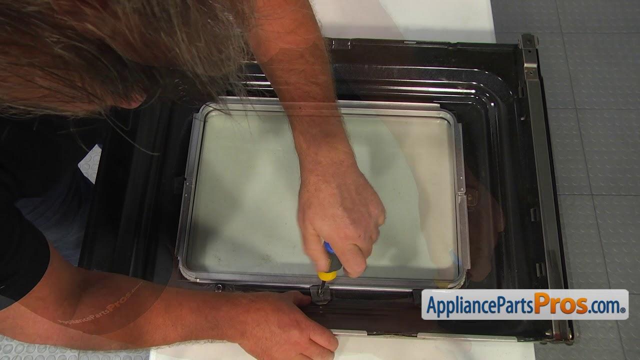 Range Inner Door Glass (Part #WP9781593)   How To Replace