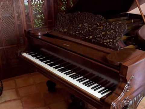 10 Million Dollar World S Oldest Steinway Piano Youtube