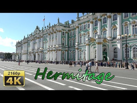 Saint Petersburg, Heremitage - Russia 4K Travel Channel