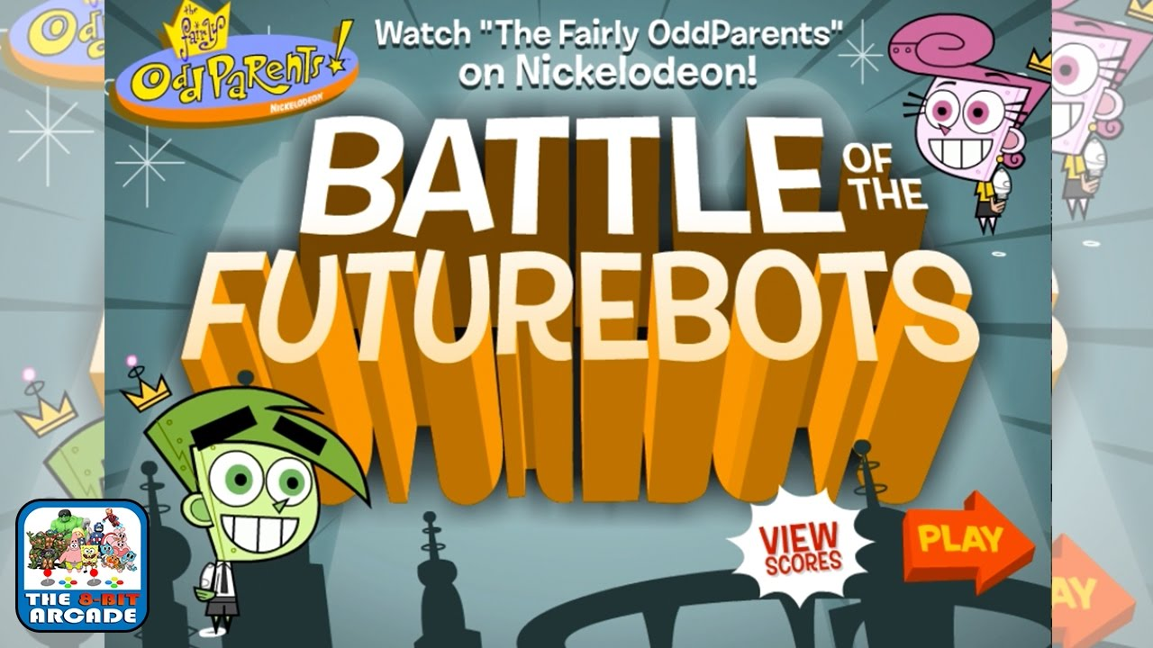 The Fairly Oddparents: Battle of the Futurebots - Build A Bot To Battle (Nickelodeon Games)