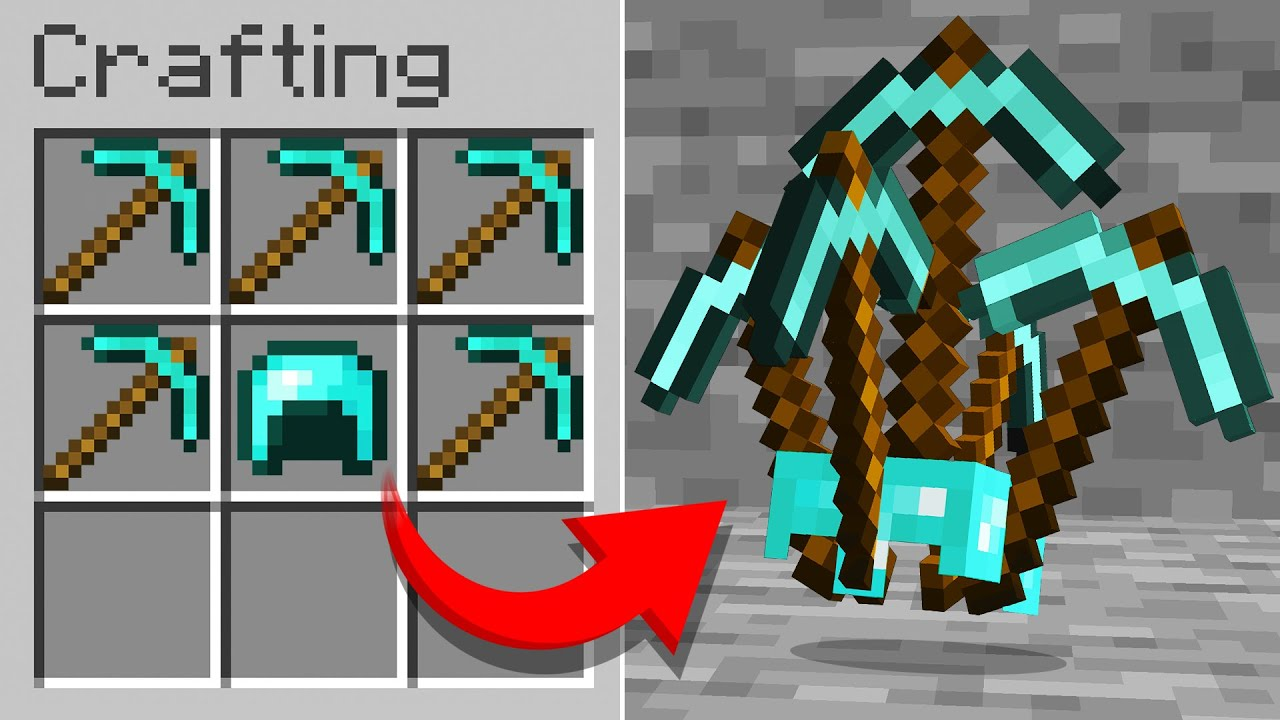Minecraft But there is Custom Armor