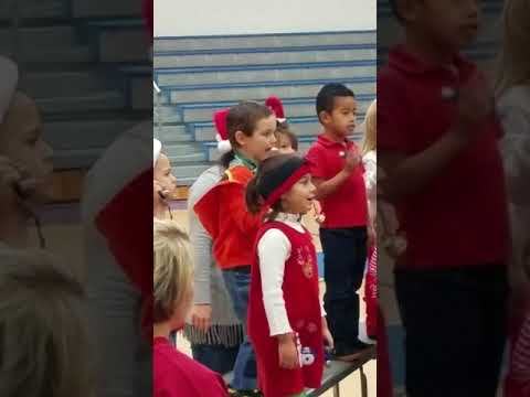 Skylar and classmates 1st Christmas Show at Trion Elementary School!(3)