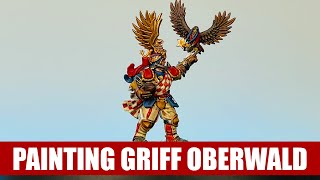 Painting Griff Oberwald - Blood Bowl