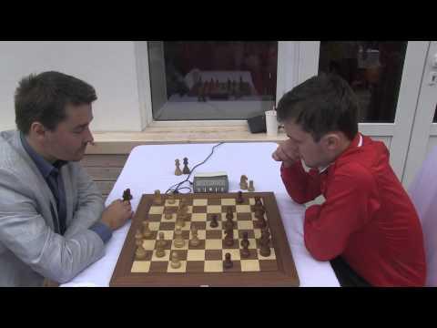 2014-09-06 GM Morozevich - GM Fedoseev BLITZ Moscow Chess Championship