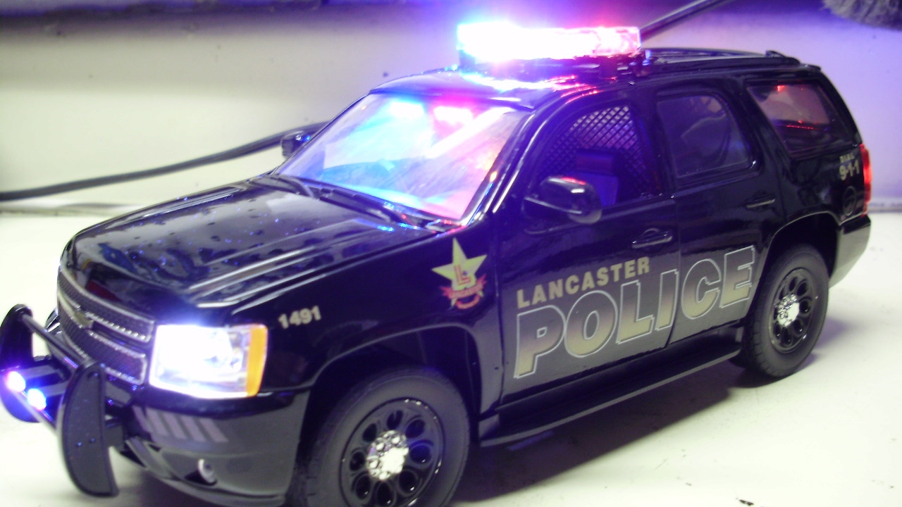 Custom Lancaster Police Department Chevy Tahoe Ppv With Working The 400 Wig Wag Alternating Flashing Led Circuit Youtube Lights Siren
