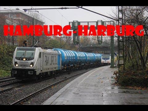Treinen in Hamburg-Harburg//Bahnverkehr in Hamburg-Harburg