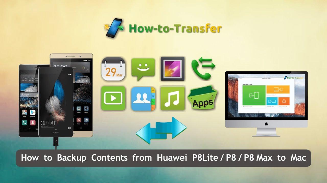 foto da huawei p8 a mac