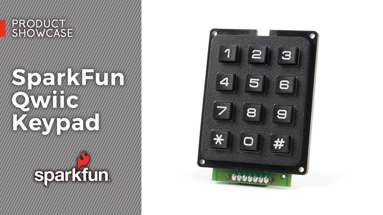 Keyboard Shortcut, Qwiic Keypad - learn sparkfun com