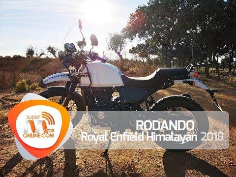 Royal Enfield Himalayan 2018 / Rodando / Prueba dinámica / Review / Supermotoronline.com