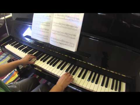 Sonatina in A Minor op 94 no 4 by Albert Biehl RCM piano repertoire grade 3 Celebration Series 2015