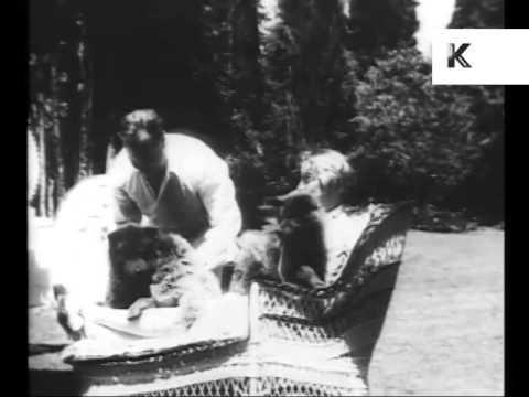 1920s Hollywood Movie Star Home Movies, Greta Garbo, Rare Footage