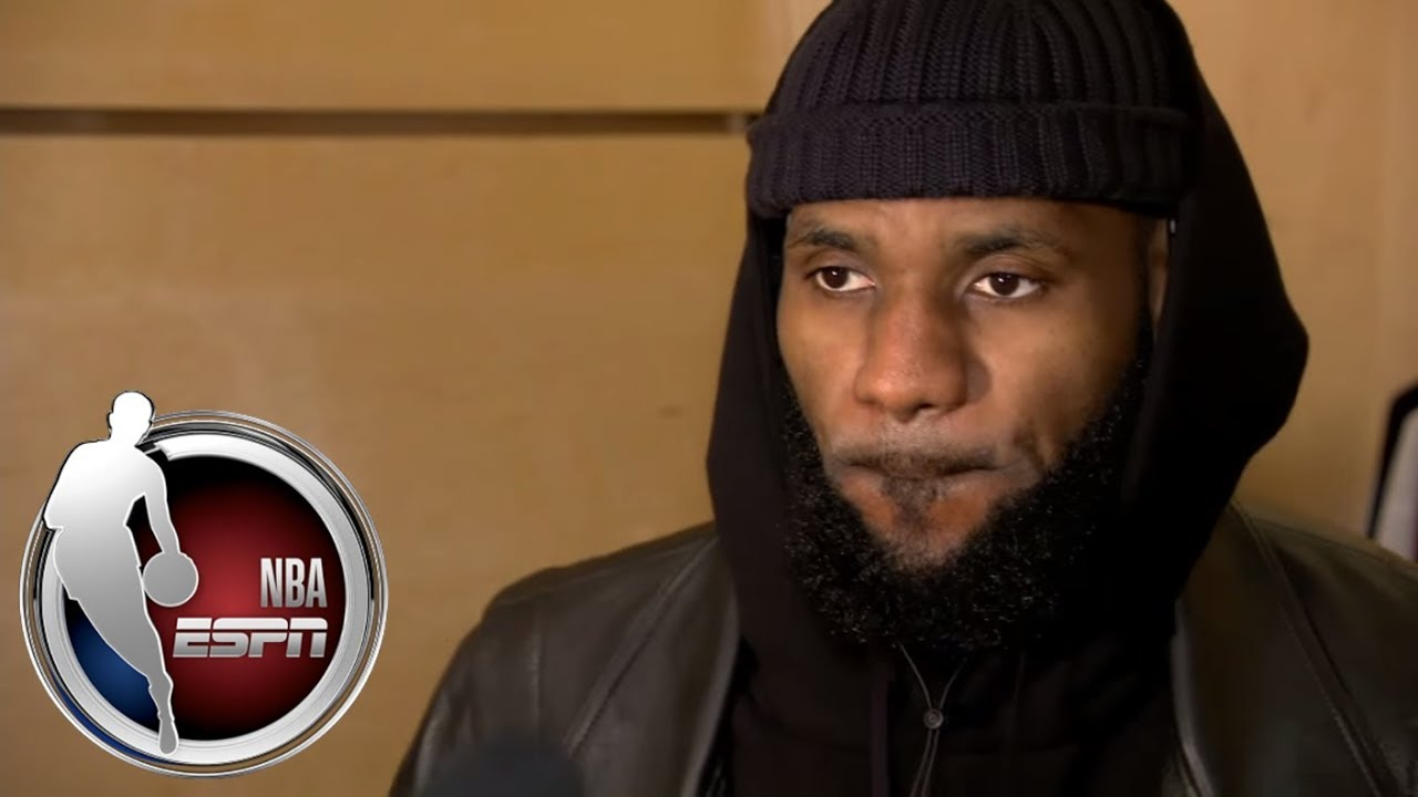 LeBron James explains why he switches shoes during games  e22fcb0bdf1