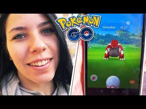 CAPTURO mi PRIMER GROUDON!! (¿PERFECTO?) NUEVO LEGENDARIO 3 GEN - Pokemon Go | SoninGame