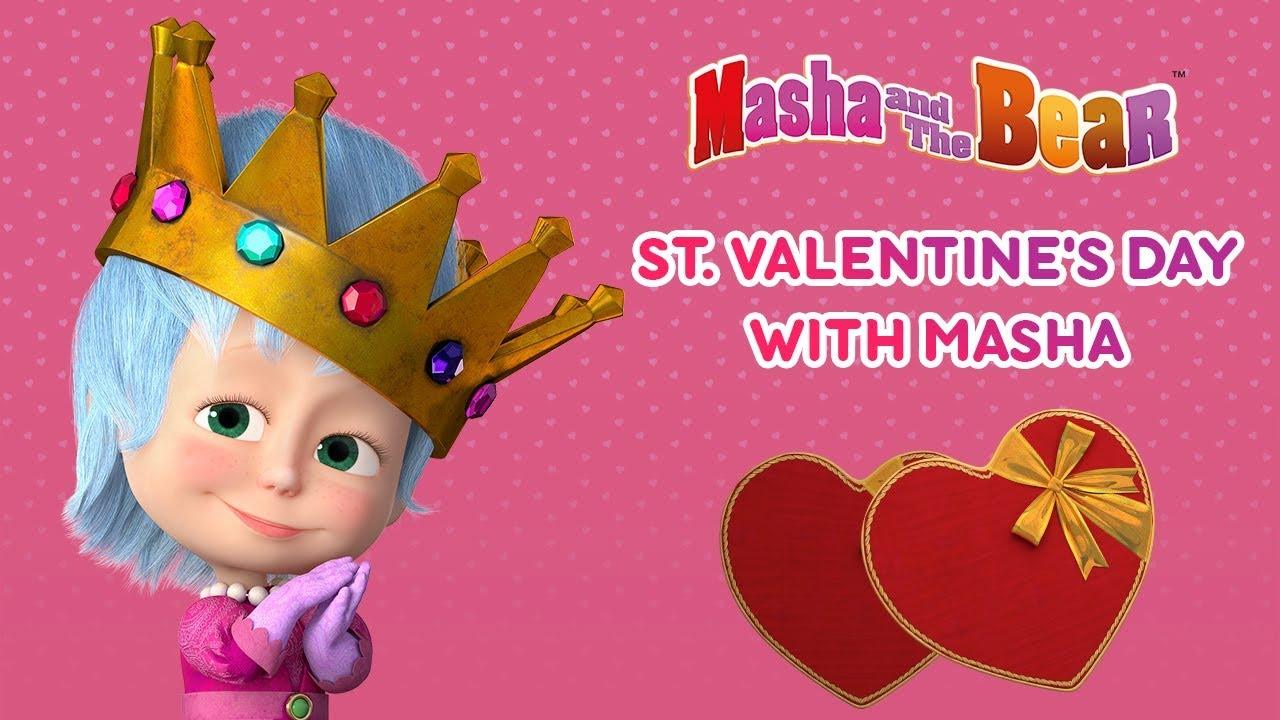 Masha And The Bear - St. Valentine's Day with Masha!
