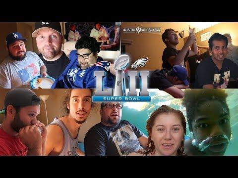 SOFTBALL CREW SUPER BOWL PARTY! | Kleschka Vlogs
