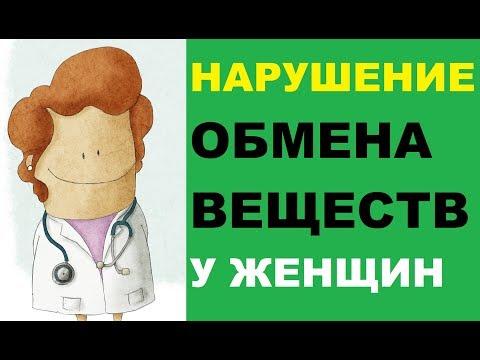 Нарушение обмена веществ у женщин: симптомы, лечение