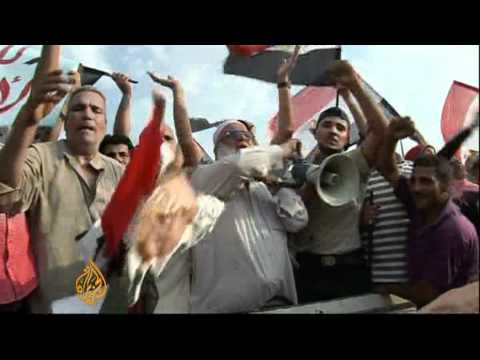 Egyptians Await Election Results