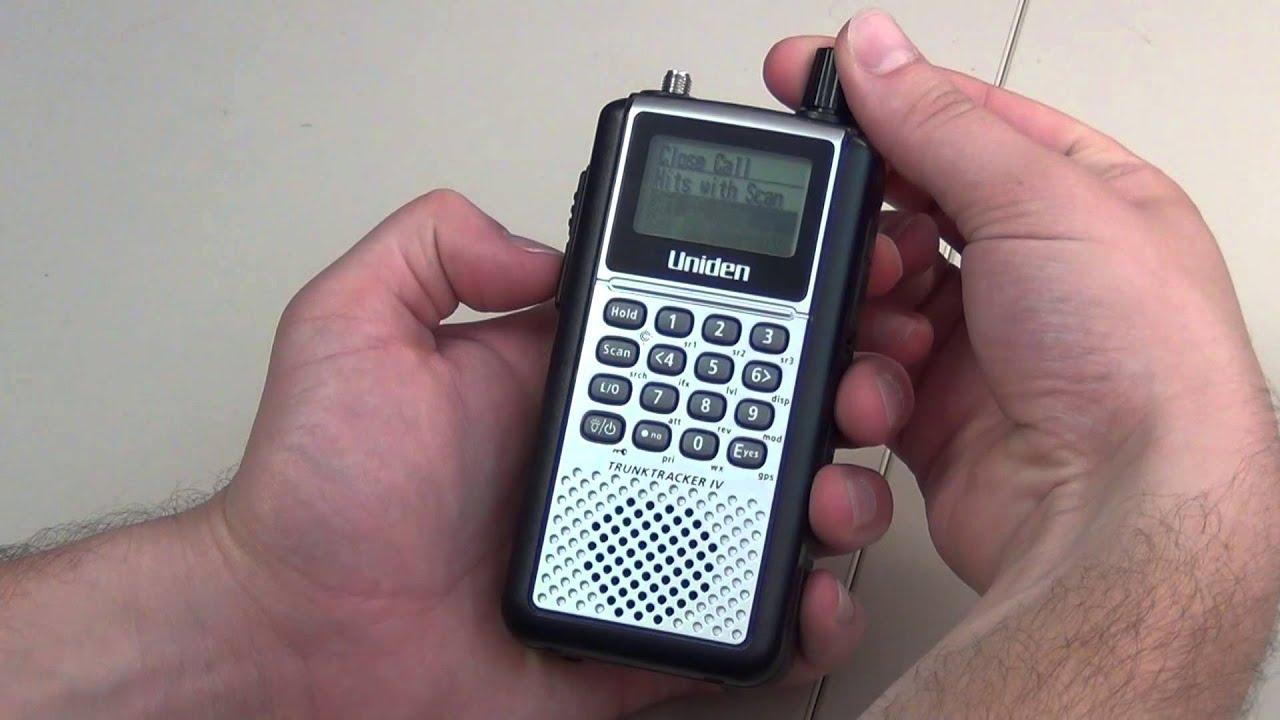Uniden BCD396T Scanner