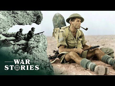 War Films Of The Africa Campaign | Battlezone | War Stories