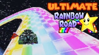 ULTIMATE Rainbow Road! Mario Kart DS Deluxe Special Cup