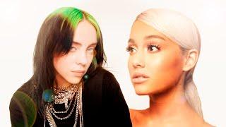 Ariana Grande x Billie Eilish - Everything I Wanted x Moonlight (mashup)
