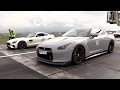 Mercedes-AMG GTS vs Audi RS6 w/ Akrapovic vs Nissan GT-R R35!