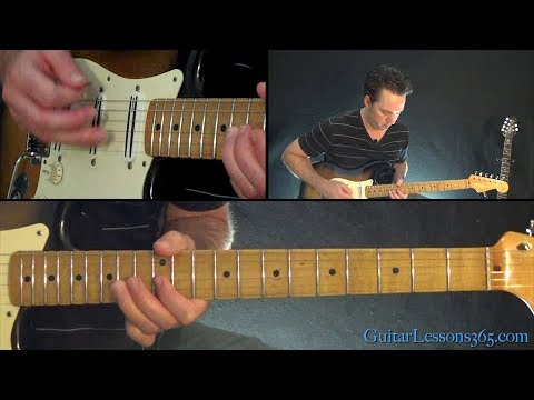 She Sells Sanctuary Guitar Lesson - The Cult