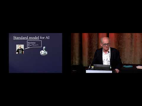 How Not to Destroy the World with AI – Stuart Russell | AAAI 2020