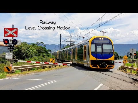 Sydney Trains Vlog 1448: Australian Level Crossing Action
