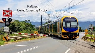Sydney Trains Vlog 1448: Australian Level Crossing Action