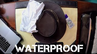 How To Waterproof A Leather Hat | Barmah Hat