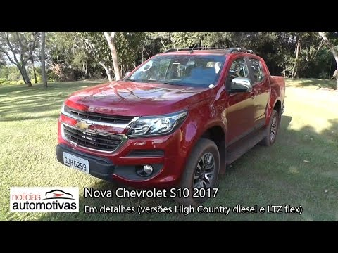 Nova S10 2017 - Detalhes - NoticiasAutomotivas.com.br
