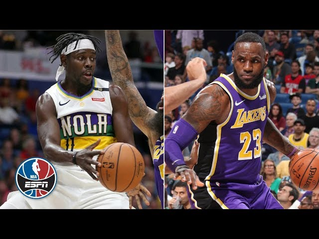 3d0062f18 LeBron James  27 points not enough as Pelicans beat Lakers