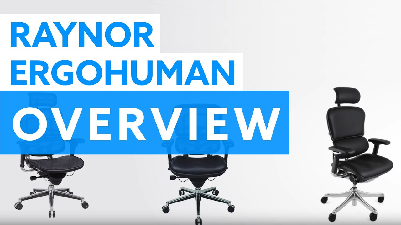 raynor ergohuman chair gioteck rc5 gaming review overview office desk youtube