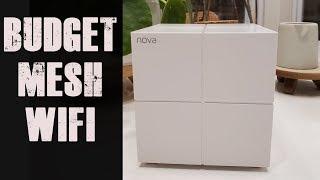 The Absolute BEST Budget Mesh Wifi System   Tenda Nova MW6 Review  