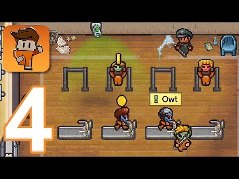 Escapists 2: Pocket Breakout - Gameplay Walkthrough Part 4 - Area 17 (iOS, Android)