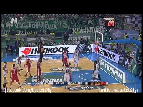 Panathinaikos vs. Olympiacos (Greek Basket League ● Finals ● Game 5)