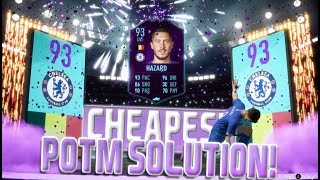 FIFA 19 POTM EDEN HAZARD SBC CHEAPEST SOLUTION! | SQUAD BUILDING CHALLENGE | FIFA 19 ULTIMATE TEAM