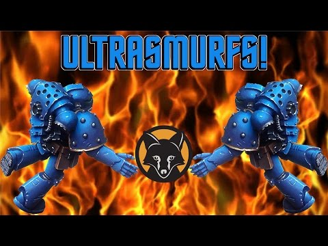 How to Paint Shiny Ultramarine Armour 40K - Part I Kujo Painting [Tutorial]