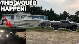 Video DURAMAX on 40s towing a 15,000lb BOAT! (DIDNT GO AS PLANNED) download MP3, 3GP, MP4, WEBM, AVI, FLV Oktober 2018