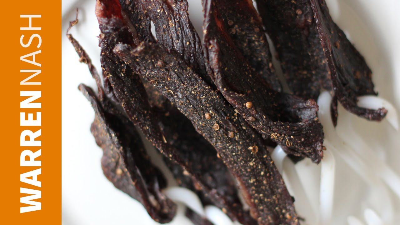 How to make Biltong - A quick tutorial